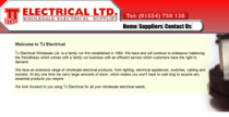 Tj electrical ltd cv