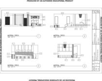 Elevations autocad cv