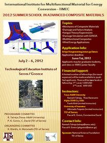 Flyer summerschool cv