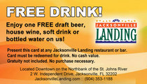 Free drink card   front cv