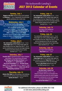 July card 2012 back cv