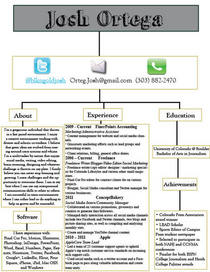 Resume flow chart cv