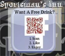 Facebook free drink cv
