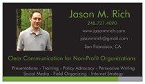 Jason rich  business card cv