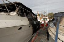 Boat fires cv