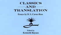 Carne ross classics and translation cv