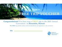 Free trip voucher cv