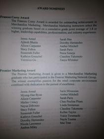 Fidm awards cv