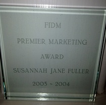 Premier marketing award cv