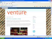 Venture magazine blog cv
