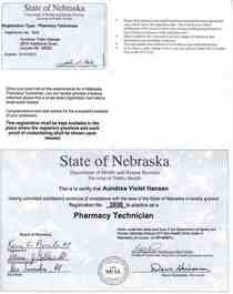 Pharmacy technician cv