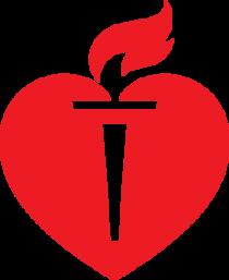 American heart assn logo cv