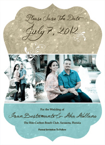 Save thedate card cv