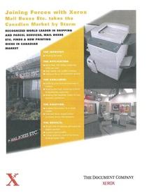 Xerox cv