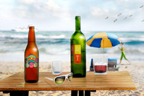 Beach table cv