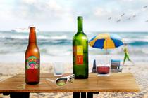Beach table cv