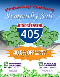 405 sympathy sale cv