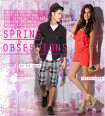 Spring obsessions email cv