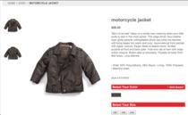 Baby jacket cv
