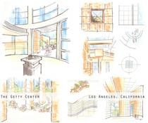 Hand renderings 3 cv