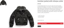 Sherpa jacket cv