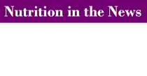 Nutrition in the news cv