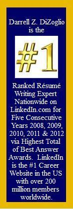 1 resume writing expert 5 years in a row cv