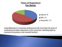 Years of experience cv