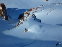 The shot. slash. la falsa parva backcountry. cv