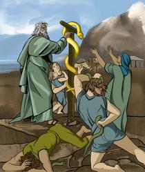 Bronze snake cv