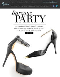 Baroque party cv