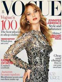 Jennifer lawrence vogue uk november 2012 cover dolce and gabbana  opt cv
