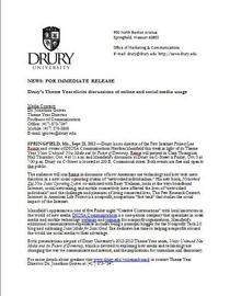 Press release pic cv