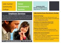 Employer outreach postcard cv
