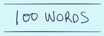 100words cv
