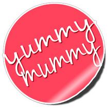 Yummy mummy sticker small cv
