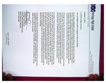 Recommendation letter cv