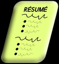 Resume clip art 1  cv
