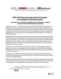 Rtd staff recommends kiewit for i 225 rail line 7 3 12 cv