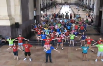 Mtyp flash mob union station cv