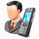 Salesman icon cv