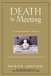 Death by meeting patrick m lencioni e book cover art cv