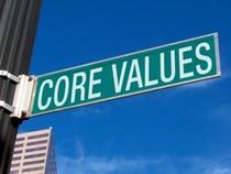 Core values image cv