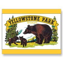 Yellowstone park postcards p239874717120174119en8sh 325 1  cv