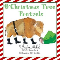 O christmas tree pretzels cv