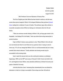 Web writing cv