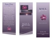 Soul therapy brochure cv