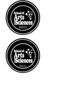 Snhu school of arts and sciences logo cv