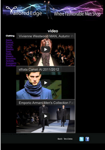 Tailored edge fashion week videos cv