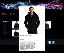 Tailored edge jackets overlay cv